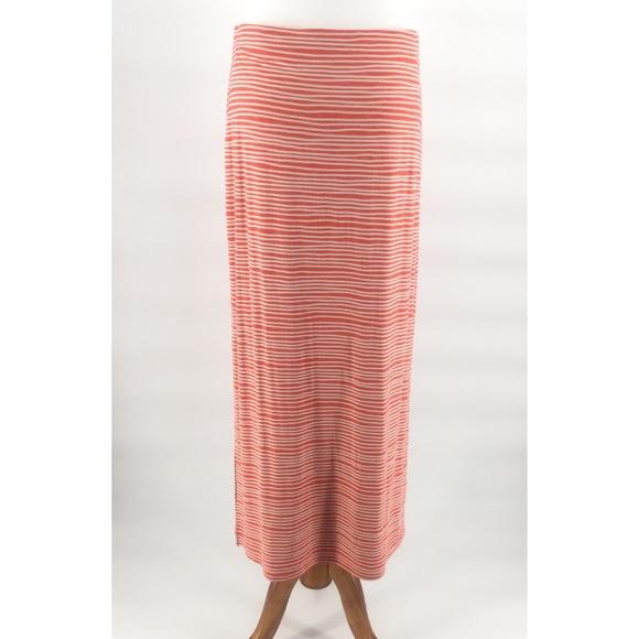 18420ad2b3 LOFT Skirts | Striped Jersey Maxi Skirt 4 | Poshmark
